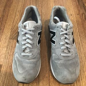 New Balance 1400 Grey Suede Sneakers 12